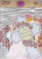 PRECIOUS MOMENTS WEDDING CUT OUTS (4) ~ Bridal Shower Party Supplies Decor