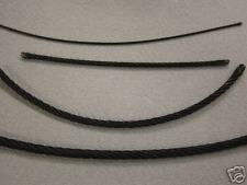 """Galvanized BLACK Rope 3/16""""  7x19 Aircraft Cable 500 FT TIE DOWN SHACKLE CLEVIS"""