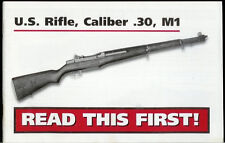Rare Original Factory CMP US Rifle .30 Cal M1 Owner's Manual With Parts List