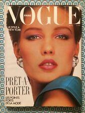 VOGUE PARIS French n°655 Avril 1985 Le Style à New York / Prêt-à-Porter / Mode