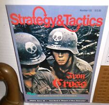 Strategy & Tactics Mag w/Game S&T #132 Iron Cross Inf Battle of Khristishche