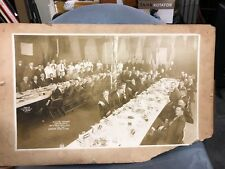 "Photo 104th Field Artillery Regiment  1926 Annual Dinner NYC 18.5""x11.5"""