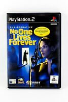 The Operative No One Lives Forever PS2 Playstation 2 Complete VGC Free Postage