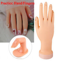 Hand Nail Practice Model Fake Finger Practice Model For Hand Manicure Nail Art