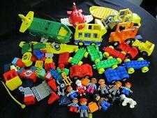 Duplo Lego Lot - vehicles - figures
