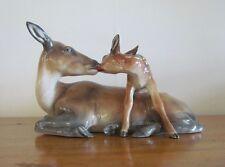 LENCI=Italian=Deer Doe & Fawn=1938=Felice Tosalli=1930=Giuseppe Ferinando=BUCK.