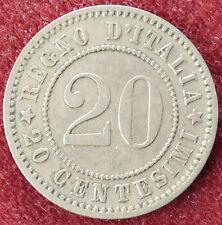 Italia 20 Centesimi 1894 KB (D3004)