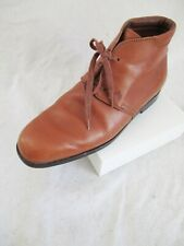 JP Tod's authentic tan leather lace up chukka desert ankle boots 7