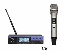 Wireless Microphone UHF Professional 100 Channel Handheld Microphones Karaoke