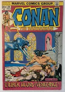 Conan the Barbarian #20 Marvel 1972 FN+ Bronze Age Comic Book 1st Print