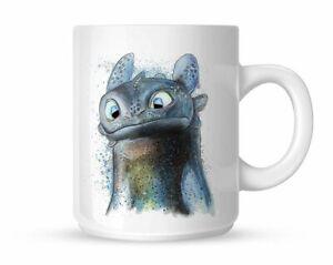 How to Train Your Dragon Toothless Art Mug White Mug 11 oz