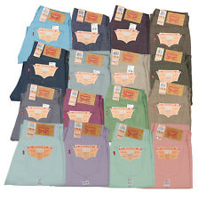 Levis 501 Button Fly Jeans Shrink To Fit Many Sizes Many Colors New With Tags