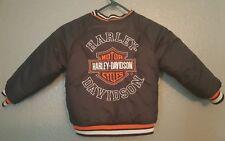 Harley-Davidson Toddlers Size Reversible Jacket