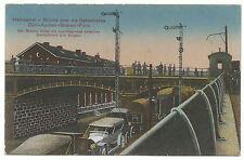 Kleinformat Feldpost Ansichtskarten mit dem Thema Brücke