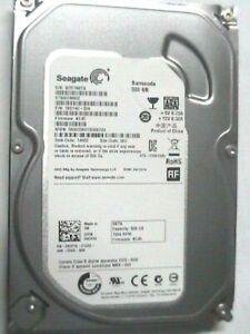 """500b Seagate ST500DM002 3.5"""" internal SATA 6Gb/s Hard Drive 7200rpm"""
