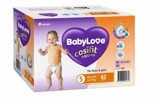 BabyLove Nappies Jumbo Pack Walker 62 Pack
