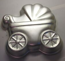 Wilton Baby Buggy Cake Pan Party Shower Insert Book Carriage Stroller #2105-3319 Bakeware