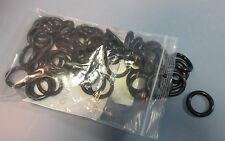 """Lot of 57 EPDM O-Rings 1.4"""" OD, 1"""" ID and 0.21"""" Thick, Black NWOB"""