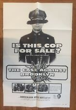 The Case Against Brooklyn 1958 Original US One Fold Movie Poster Theater Display