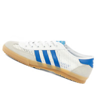 ADIDAS MENS Shoes Tischtennis OG - White, Grey & Royal Blue - OW-EF5629