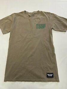 Mens TSSF Brown The Story So Far Proper Dose T Shirt Sz S