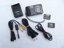 Digitalkamera Panasonic Lumix DMC TZ31 schwarz Full HD Video 3D GPS gut. Zustand