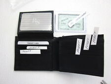 LEATHER WALLET   BI FOLD                                     ITEM 12  481