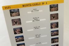 Carte Stéréoscopique LESTRADE N° 1571 : MONTE-CARLO N° 1 - Palais des Princes...