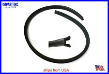 MG MGB MGBGT Window Channel Felt Weatherstrip Seal NEW AHH8405