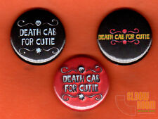 "Set of three 1"" Death Cab for Cutie pins buttons alt rock band beverly drive"
