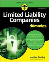 Limited Liability Companies for Dummies, Paperback by Reuting, Jennifer, Bran...