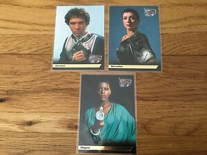 Blake 7 Season 2 Trading Cards Gold Foil, F2,F8,F9