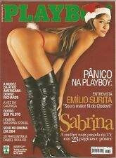 PLAYBOY MAGAZINE BRAZIL # 353 - SABRINA SATO (2) -  DEC 2004 HOT!!
