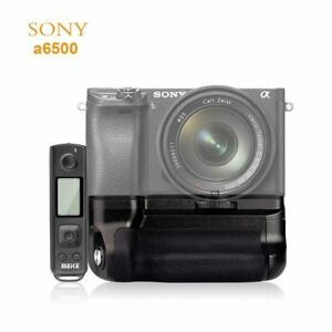 MK-A6500 Pro 2.4G Wireless Remote Control Vertical Battery Grip For Sony A6500