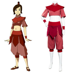 Avatar The Last Airbender Ty Lee Cosplay Costume Halloween Outfit