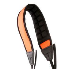 Decompression Cozy Camera Shoulder Neck Strap Belt Universal Air Padded Orange