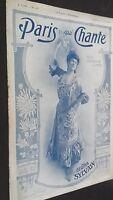 Revista Semanal Dibujada París Que Canta N º 188 Agosto 1906 ABE