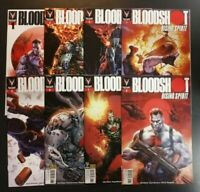 BLOODSHOT RISING SPIRIT #1 2 3 4 5 6 7 8 Valiant Comic Book NM First Prints