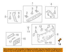 TD12688LX02 Mazda Recess lift gate TD12688LX02