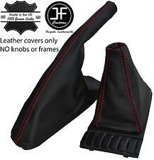 Red Stitch Top Grain Leather Shift E Brake Boot Fits Vw Golf Jetta Mk2 82 91 Fits Jetta
