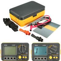 Digital Insulation Resistance Tester Megger MegOhm Meter 1000V 0.1~2000MΩ VC60B+