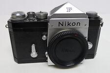 Nikon F Black Body w/ Chrome Prism NR