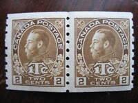 Canada Scott MR7iii admirals war tax MNH pair