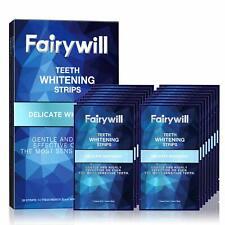 2 Packs!! Fairywill Delicate Sensitive Teeth Whitening Strips Teeth Whitener 3D