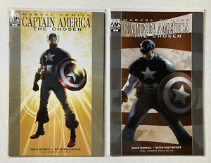 CAPTAIN AMERICA :THE CHOSEN #2, 3, 4, 5, 6 - Travis Charest - Marvel - Set