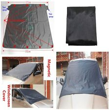 Auto Car Windshield Sun Snow Cover Shade Fixed by 8 Magnets Waterproof Windproof