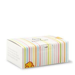 STEIFF Gift box EAN 927942 32cm White pastel stripes New