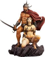 The Swordsman of Mars Frazetta Polystone Statue 1:4 by Level52 Studios Sideshow