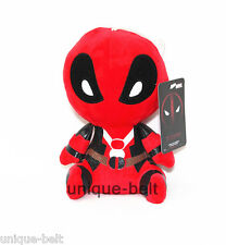 New Superhero Deadpool Figure Red Black Soft Plush toy Stuffed Doll Gift 20cm 8""