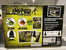 Slackers Slackline Classic Series Kit New 50 ft